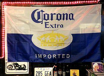 コロナビール corona ビール旗 アメリカ雑貨屋 SUNBRIDGE