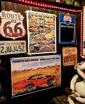 ROUTE66 るーと66ポスター アメリカ雑貨屋 SUNBRIDGE サンブリッヂ