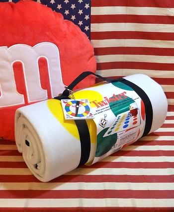 ツイスターゲーム ツイスターブランケット ピクニック道具 ピクニック遊び アメリカ雑貨屋 サンブリッヂ