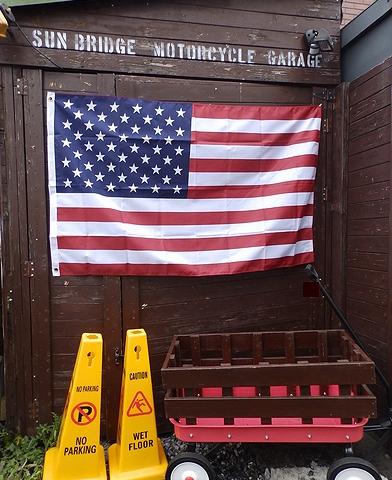アメリカ国旗150×90 星条旗150 アメリカンフラッグ 安い星条旗 アメリカ雑貨屋 サンブリッヂ