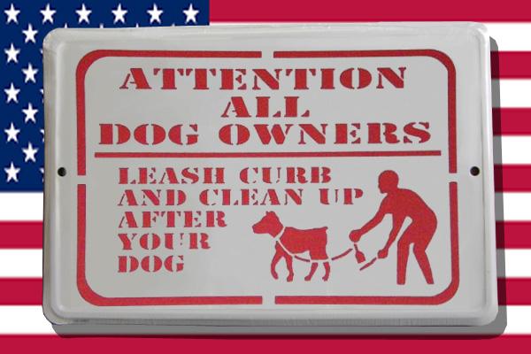 ステンシルアート 犬のふん  アメリカ雑貨屋サンブリッヂ