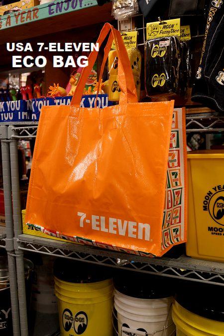 セブンイレブンエコバッグ セブンエコバッグ アメリカコンビニエコバッグアメリカ雑貨屋 サンブリッヂ 通販