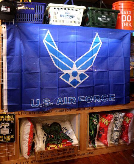 エアフォース 旗 フラッグ 所ジョージ 世田谷ベース 米軍 空軍 タペストリー アメリカ雑貨 通販 アメリカ雑貨屋