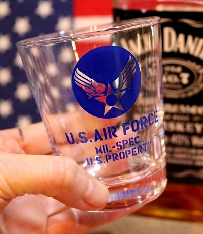 エアフォースグラス ミリタリーグラス エアフォースコップ アメリカン看板通販 アメリカ雑貨屋 サンブリッヂ