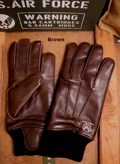 エアフォース手袋 ヤギ革手袋 TYPEA-10レプリカグローブ AIRFORCE アメリカ雑貨通販 SUNBRIDGE サンブリッヂ