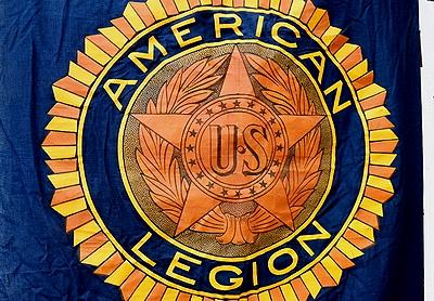 ビンテージリーガンフラッグ USミリタリー ビンテージアメリカ国旗 ビンテージ星条旗 AMERICANLEGION
