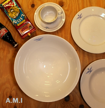 サラダボウル サラダ皿 イタリア軍サラダボウル デッドストック食器 アメリカン雑貨通販 SUNBRIDGE サンブリッヂ
