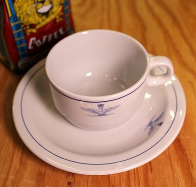 ミリタリーマグカップ イタリア軍コーヒーカップ  デッドストック食器 アメリカン雑貨通販