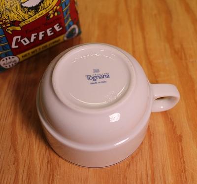 ミリタリーマグカップ イタリア軍コーヒーカップ  デッドストック食器 アメリカ雑貨通販 サンブリッヂ 岩手雑貨屋