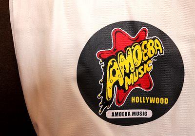 アメーバミュージックバッグ アメリカエコバッグ ロスレコード屋 Amoeba Music アメリカ雑貨通販 サンブリッヂ 通販商品