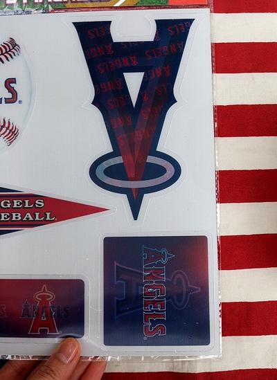 エンゼルスマグネット ロサンゼルスエンゼルス 3Dマグネット メジャーリーグ MLB アメリカ雑貨屋 サンブリッヂ アメリカン通販