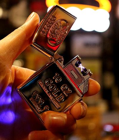 プラズマライター ゴールドバーライター 強風イター クロスアークインゴットライター アメリカ雑貨屋 サンブリッヂ アメリカ雑貨通販