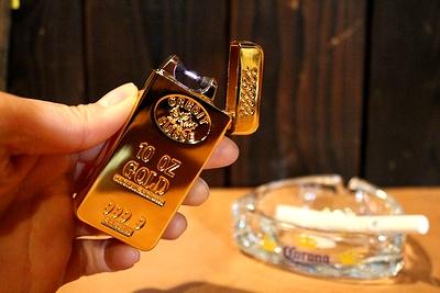 アークインゴットライター ゴールドバーライター USBライター 金塊  アメリカ雑貨屋 サンブリッヂ