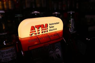 ATM貯金箱 ATMコインバンク 面白フォトフレーム アメリカ雑貨屋 サンブリッヂ