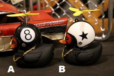 ヘルメットアヒル アヒル 8ボール シャークマウス スパイダーマン スター アメリカ雑貨 アメリカ雑貨通販 サンブリッヂ 通販商品
