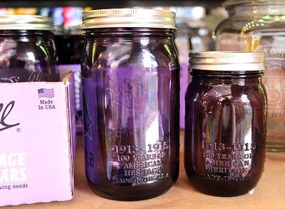 メイソンジャー メイソンジャー紫 Ball メイソンジャーパープル メイソンジャー岩手 アメリカ雑貨屋 サンブリッヂ 通販
