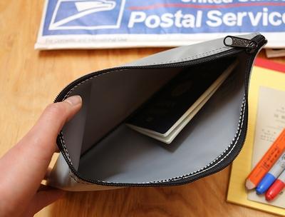 バンクオブアメリカポーチ アメリカ銀行ポーチ デポジットバッグ パスポートケース アメリカ雑貨屋サンブリッヂ