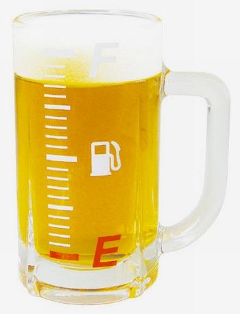 ガソリンメーターグラス ガソリンメータービアグラス 小さめビアグラス アメリカ雑貨屋 サンブリッヂ 通販