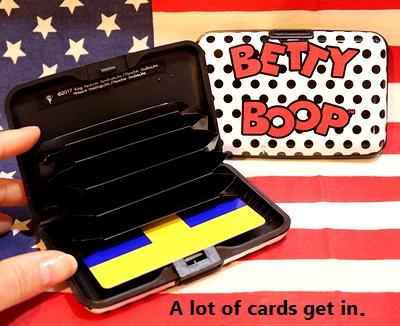 ベティーマカードケース ベティちゃんカード入れ アメリカ雑貨通販  岩手雑貨屋 ベティ通販 SUNBRIDGE サンブリッヂ