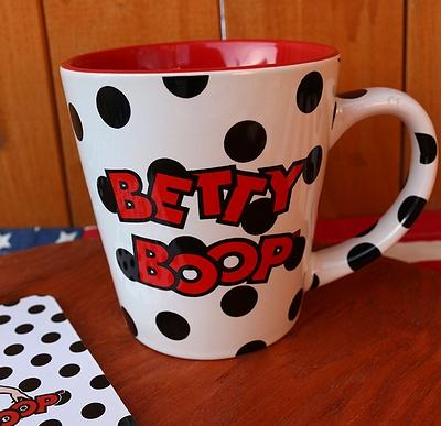 ベティーマグカップ ベティちゃんマグカップ アメリカ食器 アメリカ雑貨通販  岩手雑貨屋 ベティ通販 SUNBRIDGE サンブリッヂ