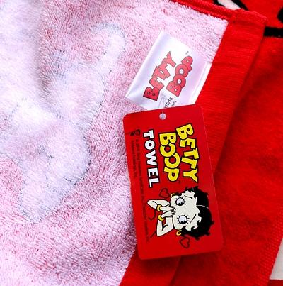 ベティフェイスタオル ベティタオル ベティちゃんフェイスタオル アメリカンタオル サンブリッヂ アメリカ雑貨通販