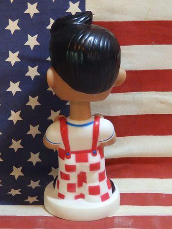 ビッグボーイ ボビングドール 首振り人形 インテリア BIG BOY ハンバーガーショップ キャラクター アメリカ雑貨 サンブリッヂ