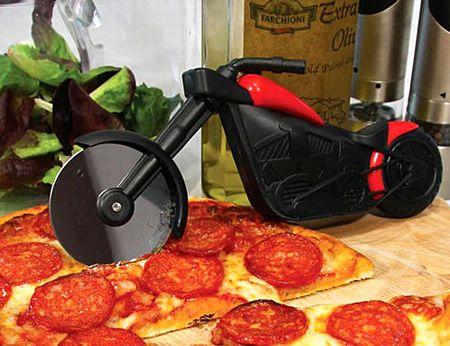 ピザチョッパー バイク ピザカッター おもしろ ピザ雑貨 アメリカ雑貨屋 サンブリッヂ 通販