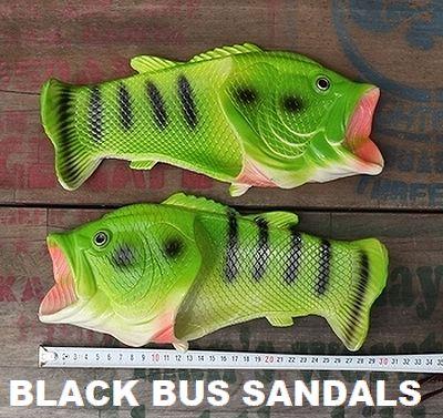 ブラックバスサンダル ジョークサンダル アウトドアサンダル 魚サンダル アメリカ雑貨屋 サンブリッヂ