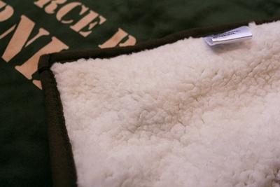 エアフォースブ膝かけ クウォーターブランケット Quarter Blanket USAF ミリタリー毛布 アメリカ雑貨屋 サンブリッヂ 通販