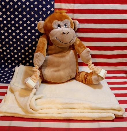 ブランケットバックパック モンキーブランケット リュックブランケットモンキー アメリカ雑貨通販 アメリカ雑貨屋 サンブリッヂ