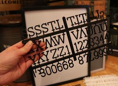 レターボード レタープレート メニュー看板 オリジナル看板 アメリカン看板 カフェ看板 アメリカン雑貨通販 SUNBRIDGE サンブリッヂ