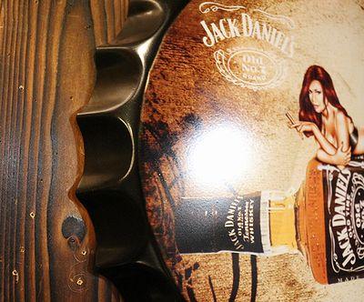 ジャックダニエル看板 王冠ボトルサイン JACK DANIELS ジャックダニエル アメリカ雑貨屋 サンブリッヂ ジャックダニエル通販