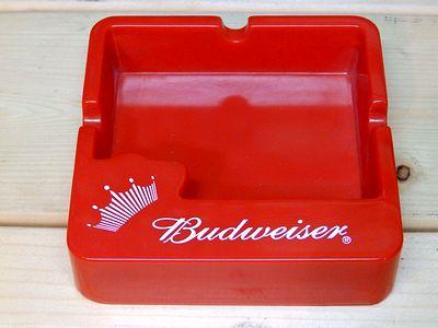 バドワイザー灰皿  バドワイザーノベルティ灰皿 Budweiser アメリカ雑貨屋 SUNBRIDGE