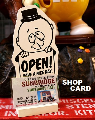 バーギー看板 テーブルメッセージ看板 スマホスタンド カードホルダー アメリカ看板 アメリカ雑貨通販 サンブリッヂ