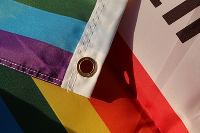 カリフォルニアフラッグレインボー カリフォルニア州旗レインボー アメリカ雑貨屋 サンブリッヂ カリフォルニア雑貨通販
