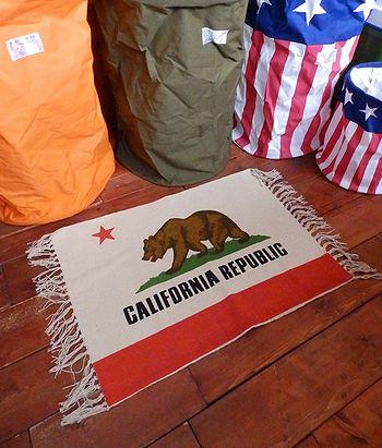 カリフォルニアフロアマット 玄関マット アメリカ雑貨屋 サンブリッヂ