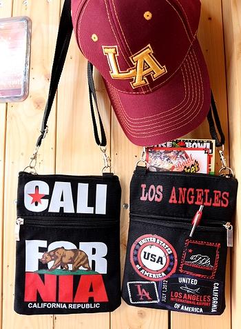 カリフォルニアポシェット ショルダーミニバッグ CALIFORNIA アメリカ雑貨屋 サンブリッヂ