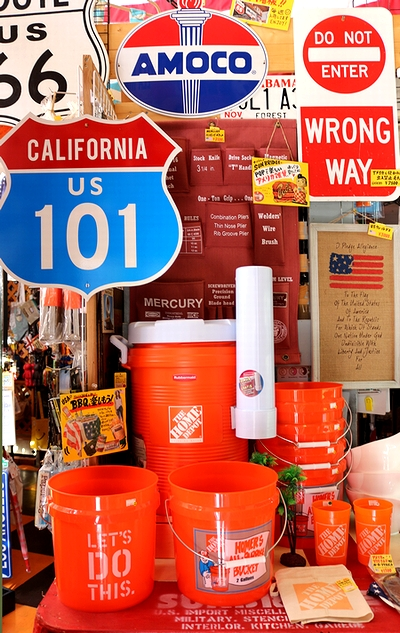 カリフォルニア看板本物 カリフォルニア表札 カリフォルニアロード看板 トラフィックサインボード  サンブリッヂ 通販