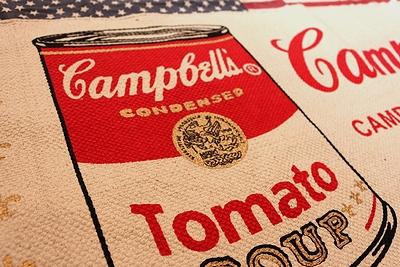 キャンベルキッチンマット コットンマット Campbellsoup アメリカ雑貨屋 サンブリッヂ