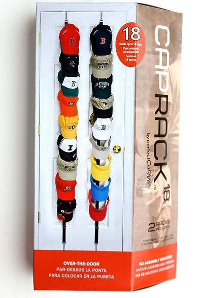 キャプラック18 キャップハンガー 帽子ラック CAPRACK アメリカ雑貨屋 サンブリッヂ 通販