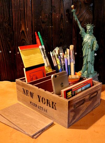 写真置き木箱 フォトホルダー アメリカン木箱 ニューヨーク木箱 アメリカンインテリア サンブリッヂ アメリカン雑貨通販