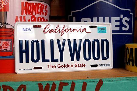 カリフォルニア 看板 ハリウッド看板 ナンバープレート CMプレート  アメリカ看板 サンブリッヂ アメリカ雑貨 通販 アメリカ雑貨屋