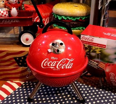 コカコーラバーベキューコンロ  コーラ焼き台 コーラBBQコンロ アメリカ雑貨屋 サンブリッヂ 通販