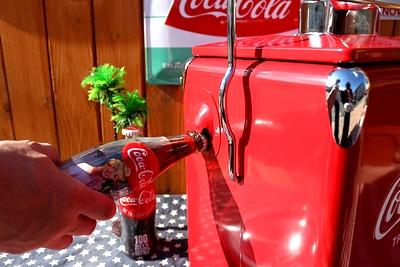 コカコーラクーラーボックス コーラストレージボックスレッド アメリカ雑貨屋 サンブリッヂ