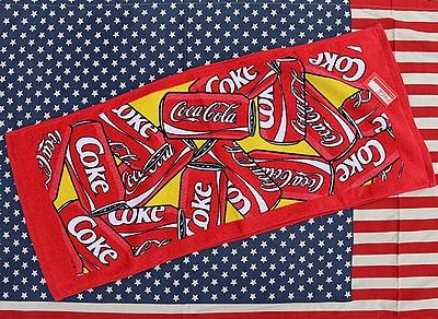 コカコーラフェイスタオル コーラタオル 缶コーラ アメリカ雑貨屋 サンブリッヂ