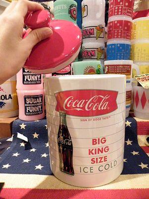 コカコーラ クッキージャー 保存容器 アメリカ雑貨屋 サンブリッジ