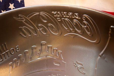 コーラバケツ ブリキバケツ コーラ アメリカン 鉢植え ガーデンバケツ キャンプ アメリカ雑貨 通販 アメリカ雑貨屋