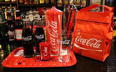 コカコーラクーラーランチバッグ COCACOLA アメリカ雑貨屋 サンブリッヂ