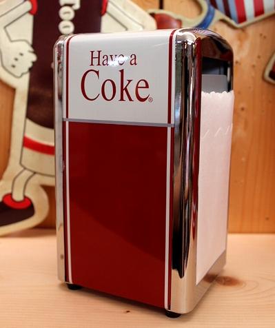 コーラナプキンホルダー コーラ雑貨 カミナプキンホルダー  アメリカ雑貨屋 サンブリッヂ アメリカン通販
