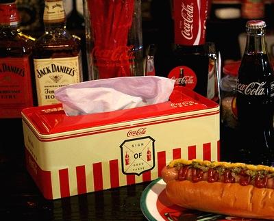 コカコーラブリキティッシュケース コーラケース CocaCola アメリカン雑貨 アメリカ雑貨屋 サンブリッヂ 通販